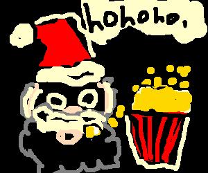 Santa Popcorn