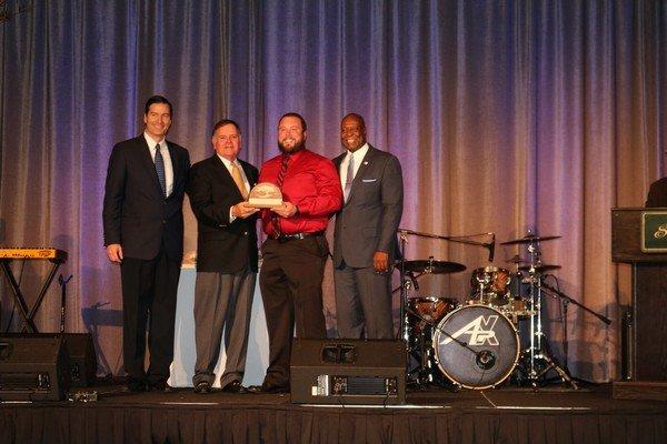 Rising Star Award winner Nate Ramey of Little St. Simons Island