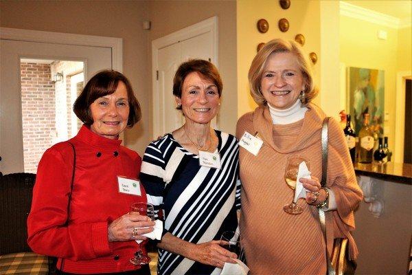 Carol Davis, Pam Hamilton, Billie Huggins