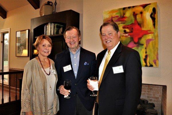 Karen and Richard Fleming, Rip Graham