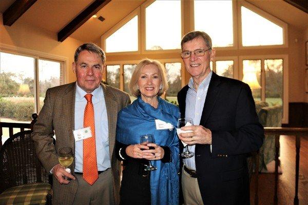 Fred Barlow, Janice and Roy Davis