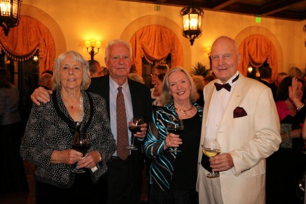 Barbara and Joseph Viggiano, Gloria Tapson, Tom Pristavec