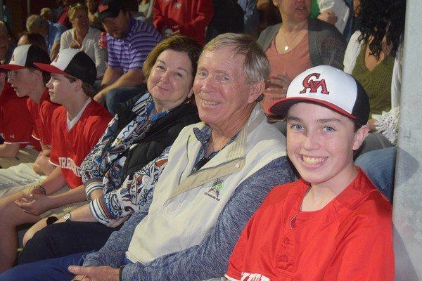 Lisa, Dickie and Jack Anderson