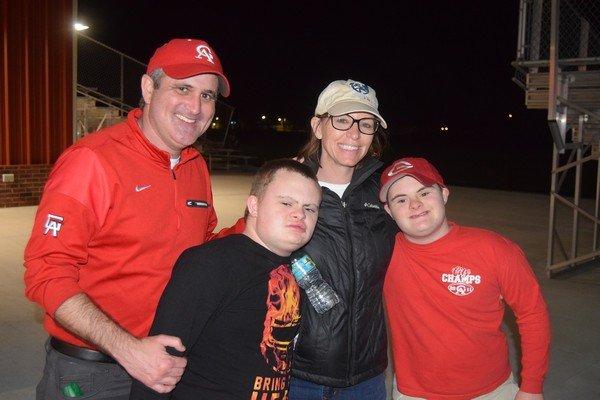 Hank, Jack, Rachel and Orion Yeargan