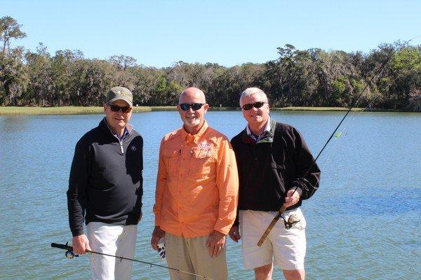 Tommy Stroud, Spud Woodward, Brad Stroud