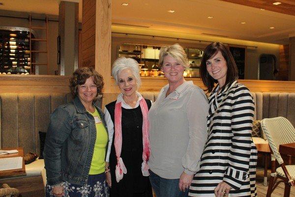 Sharon Proudfoot, Libby Sweat, Anna Tillman, Kim Coolidge