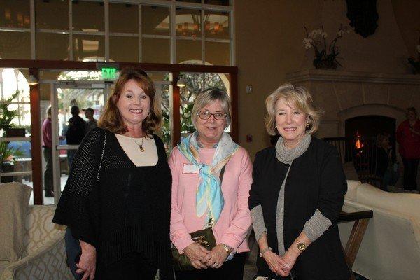 Mary Sapp, Nancy Rentz, Margaret McKensie Souther