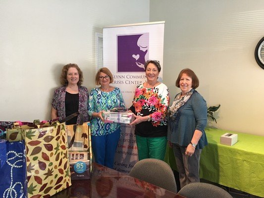 Brunswick Womans Club Helping Fight Domestic Violence