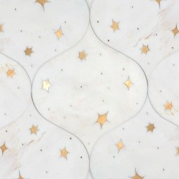 Astronomy stone mosaic