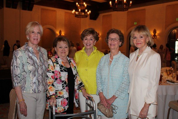 Nancy Ludwig, Beverly Oliff, Nancy Pandolfi, Jean McKnight, Carolyn Hearn