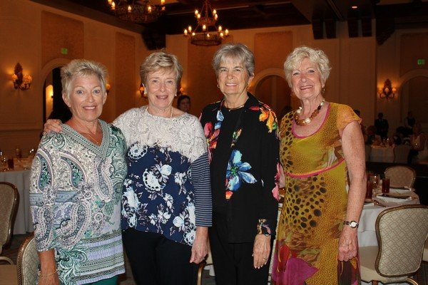 Lynne Mueller, Peg Root, Marilyn Wooldridge, Pauline Regan