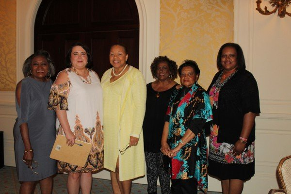 Margie Harris, Cary Greenfield, Abra Lattany-Reed, Serena Hall, Caroline Everson, Sandra Holzendorf