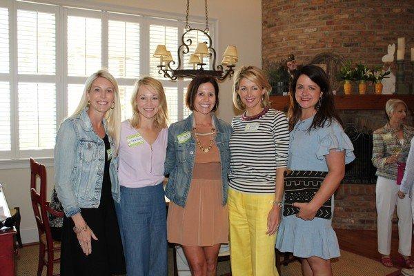 Laura Roberts, Rachel Bailey, Amanda Tate, Susan Dunn, Julie Willis