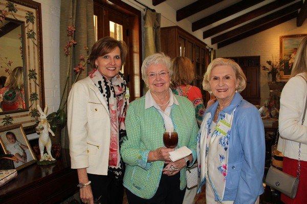 Bess Thompson, Frances McCrary, Priscilla Miles