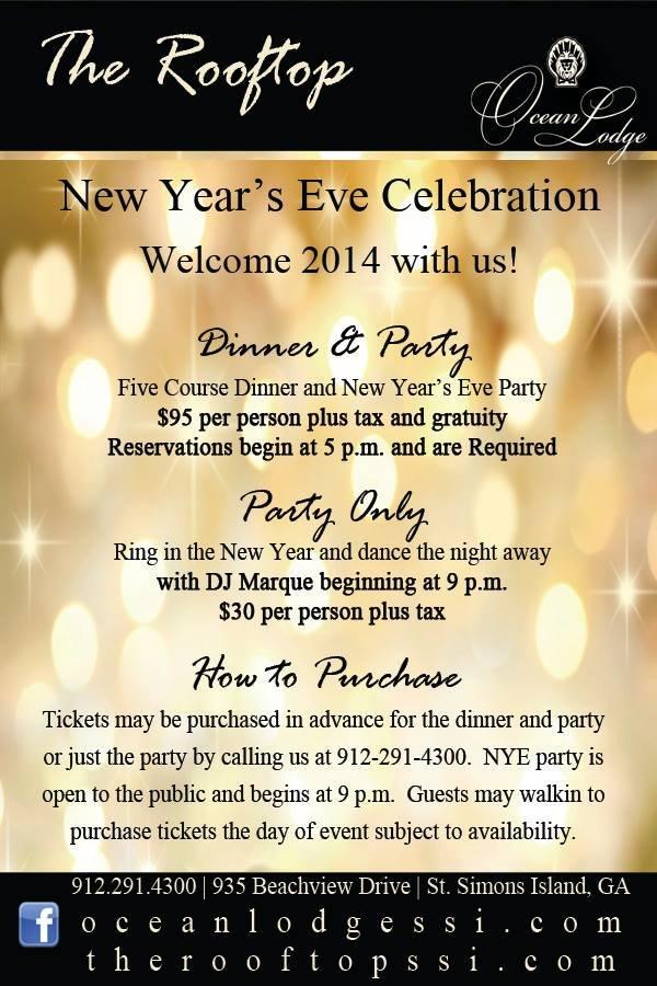 New Years Eve Ocean Lodge