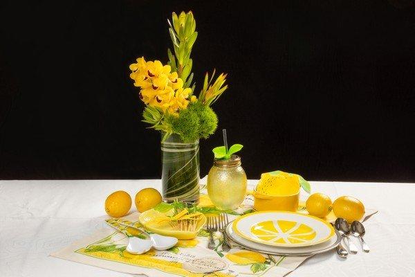 Flavors Supper Club Theme - Lemons