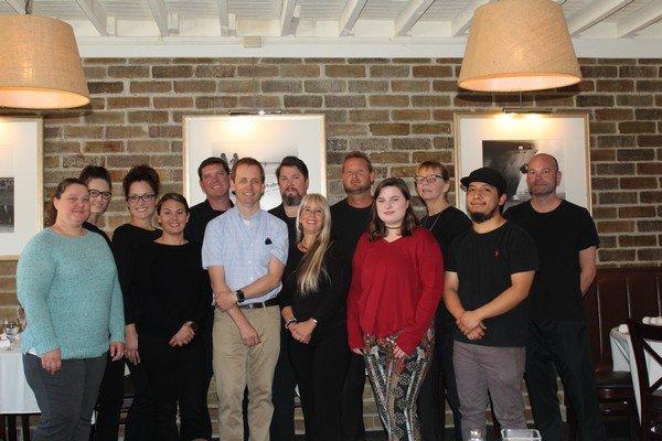Owner Zack Gowen & the Georgia Sea Grill staff