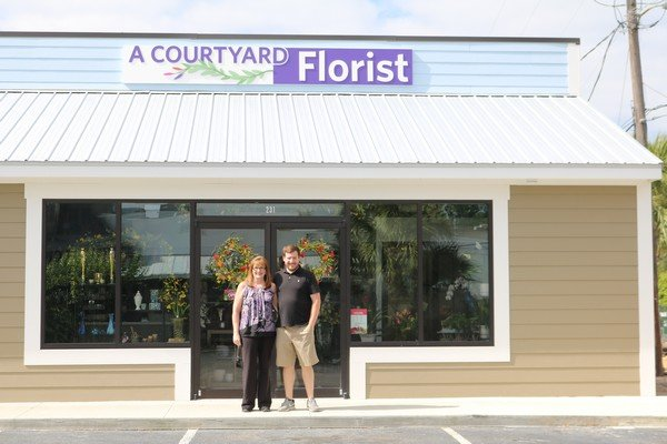 A Courtyard Florist Longview Plaza