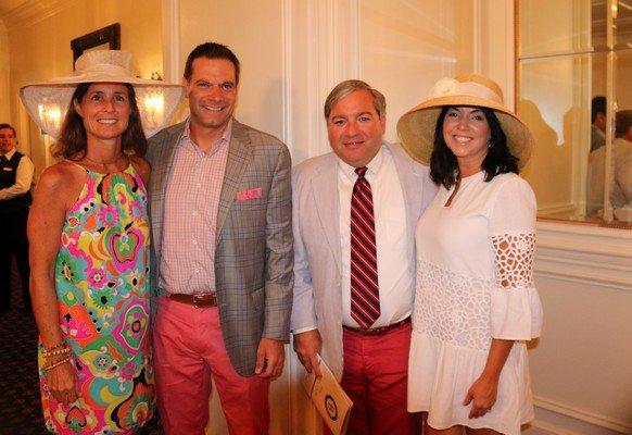 Mary Beth and Scott Steilen, Jeff and Helen Rentz