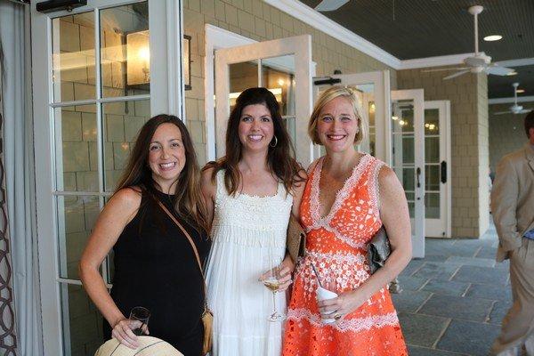 Lindsay Stewart, Lindsey Spearman, Brooke Martin