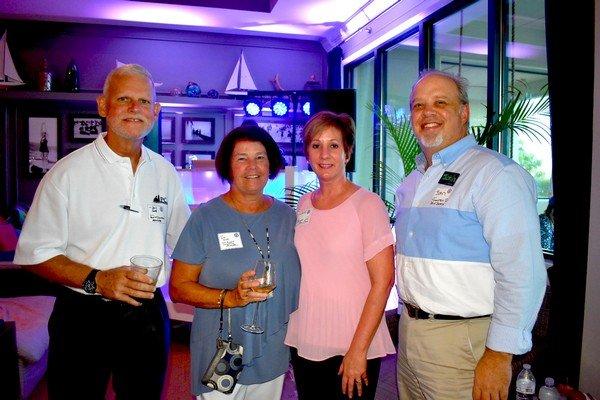 Dave and Liz Smith, Mary Cason, John Tharpe