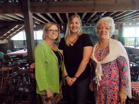 Sandy Johnson, Bethany Fahey, Sharon Tulloh