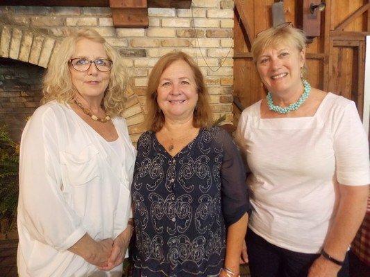 Robin O'Mara, Janet Shearouse, Sara Hassinger