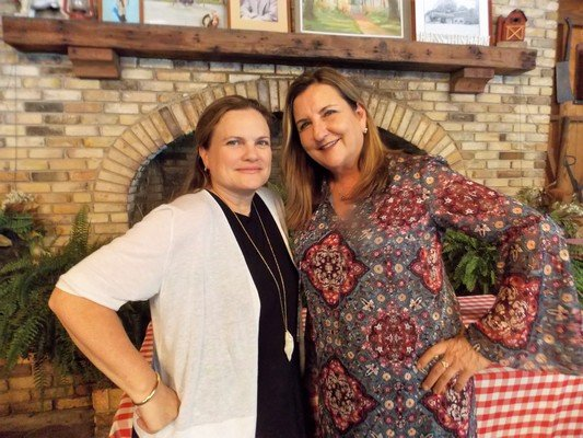 Bennie's Red Barn owner Ali Paolini, Golden Isles Olive Oil owner Donna MacPherson