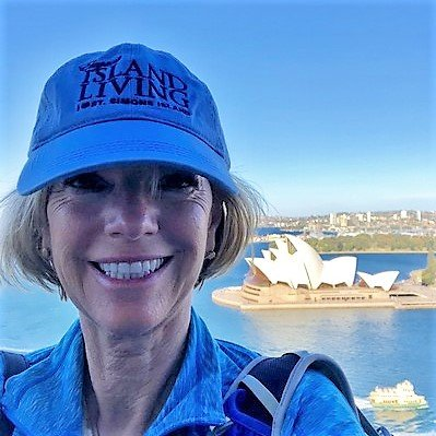 Janice in Sydney - the PNG journey begins