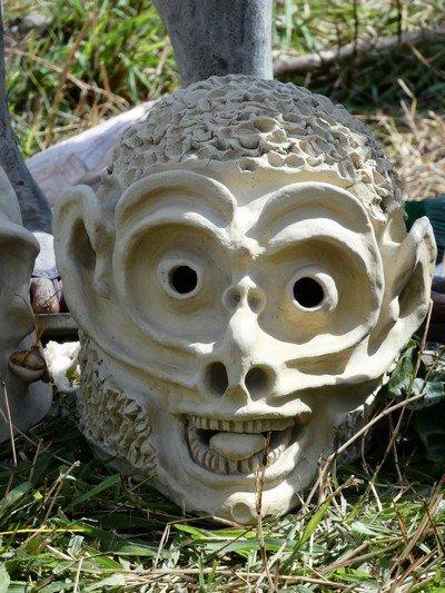 Mount Hagen Sing Sing mud mask 01
