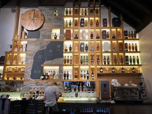 Glenfiddich Distillery Bar