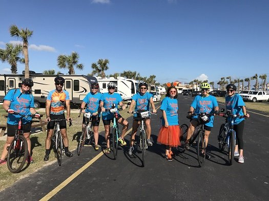 St. Simons Spinners Bike MS Team