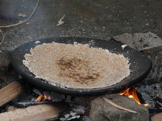 Sago pancake