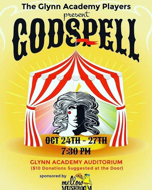 Godspell presented by Glynn Academy Players