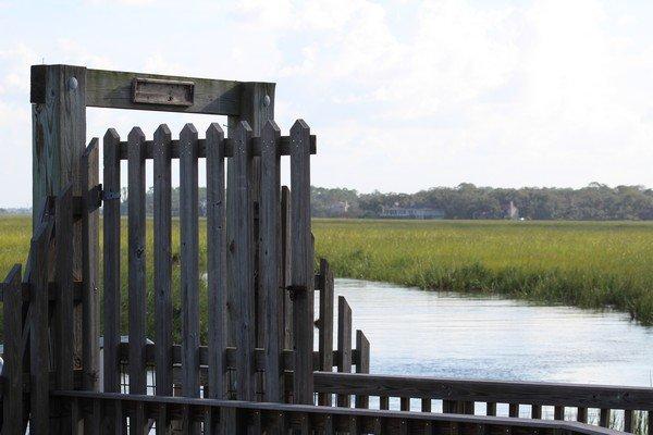 Village Creek Landing Gate