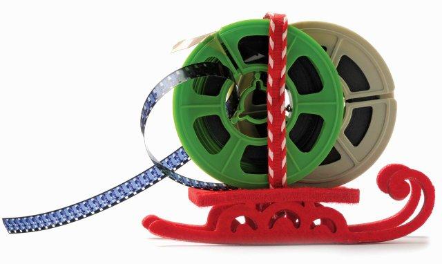 holidlay movies film reel