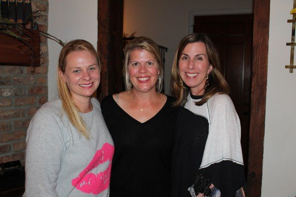 Jennifer Wall, Marion Gash, Susan Davenport