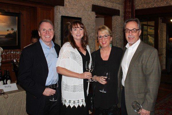 Scott and Lisia Sullins, Teresa and Tom Norton