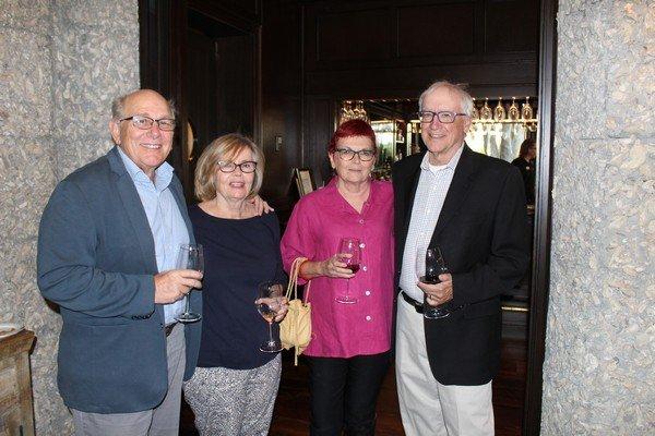 Scott and Diane Runkle, Leigh Kirkland, Bob Sattelmeyer
