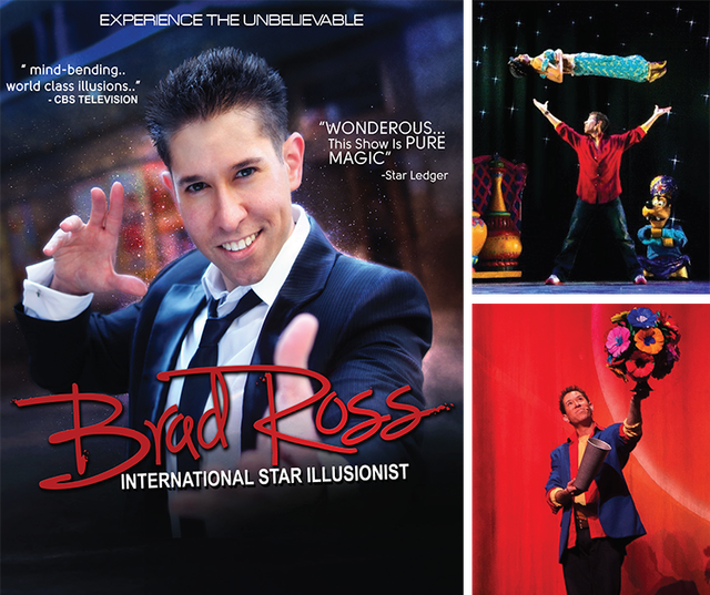 Illusionist Brad Ross
