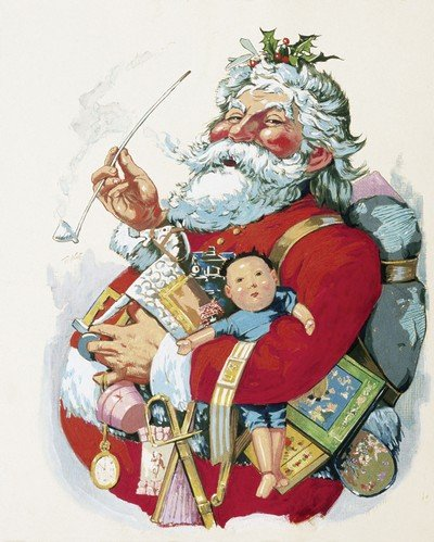 Thomas Nast's Jolly Old St. Nick