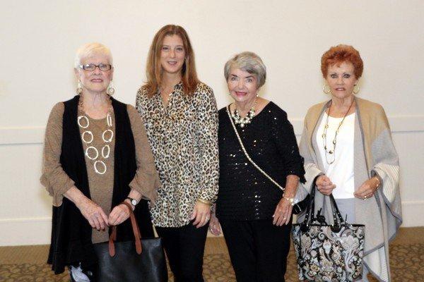 Verna Young, Gail Stringer, Sherle Beck, Darlene Trent