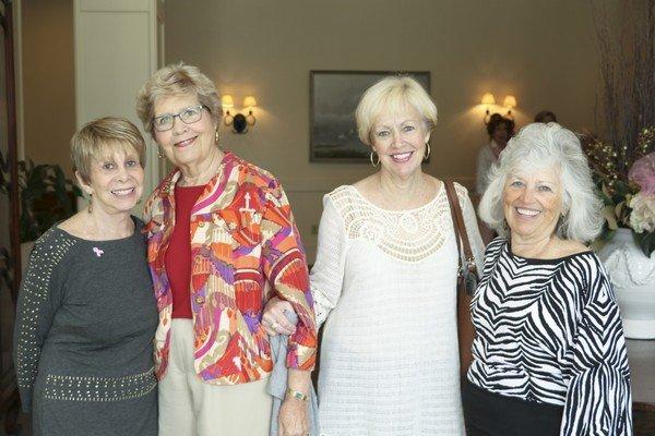 Janice Horn, Becky Bridges, Barbara Foster, Tish Searscy