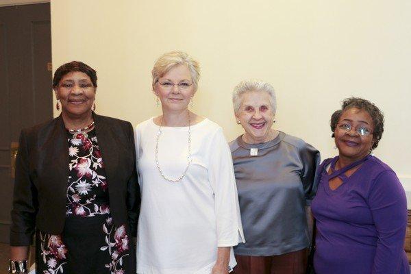 Dora Johnston, Laura Kipp, Creta Nichols, Edith Holzendorf