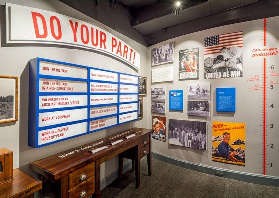 Do Your Part Exhibit at WWII Home Front Museum