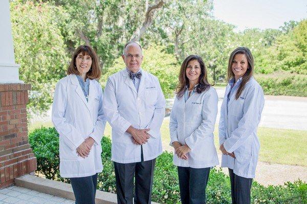 Dr. Diane Bowen, Dr. James Greene, Dr. Sage Campione, Nurse Practitioner Lauren Koncul of Centered on Wellness