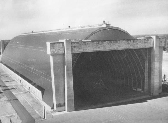 NAS Glynco Airship Hangar