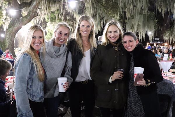Heather Arnold, Nikki Mitchell, Kari Kizzire, Julia Ecclesine, Ally Urquhart