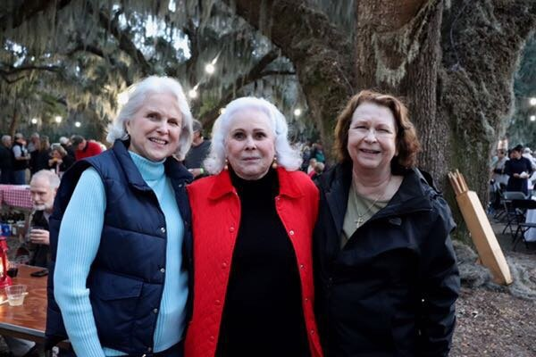 Sally Sasser, Peggy Sheffield, Bunny Sams