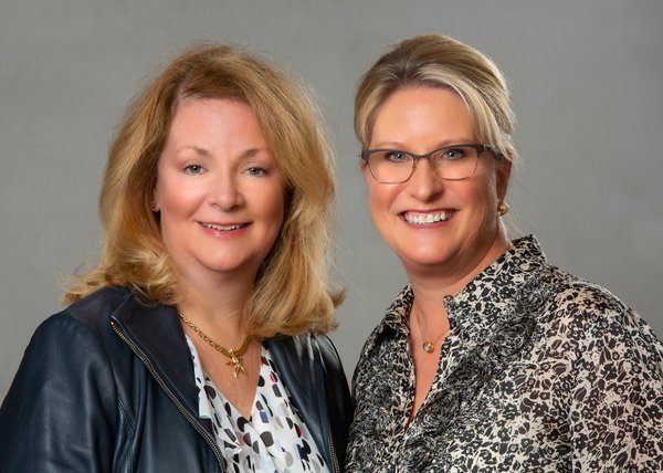 2019 Tour of Homes Co-Chairman Susie Henning and Chairman Charlotte Graham